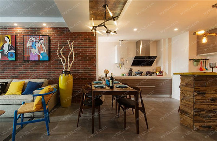 90平小三房装修案例 - 维意定制家具网上商城