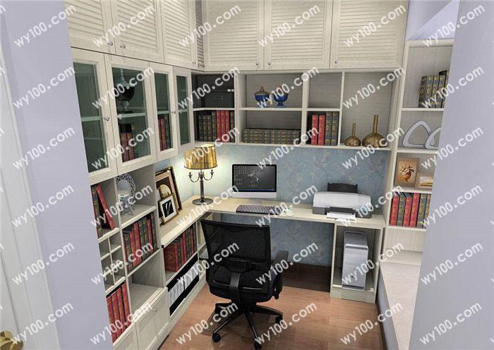 转角书柜选购注意事项 - 维意定制家具网上商城