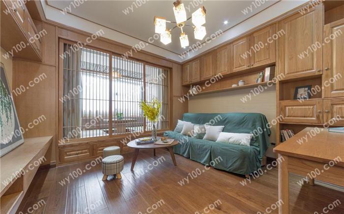 新中式原木色装修风格 - 维意定制家具网上商城