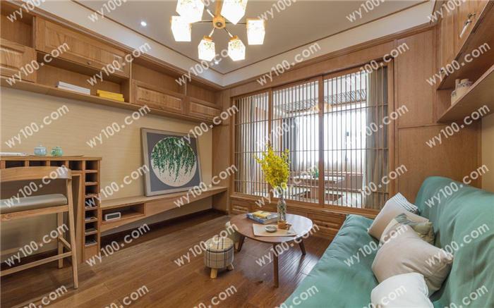 新中式原木色装修风格:一切从简,回归自然