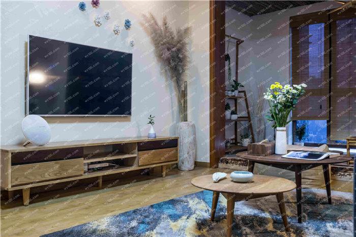 不同材质的电视背景墙装修设计 - 维意定制家具网上商城