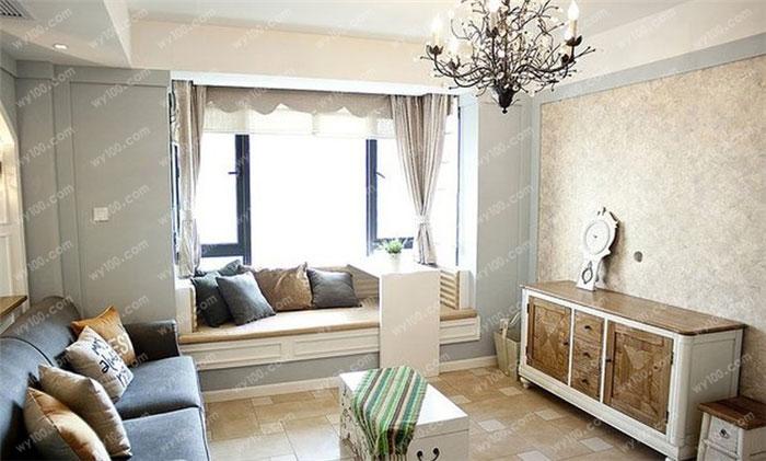 客厅飘窗装修要注意什么 - 维意定制家具网上商城
