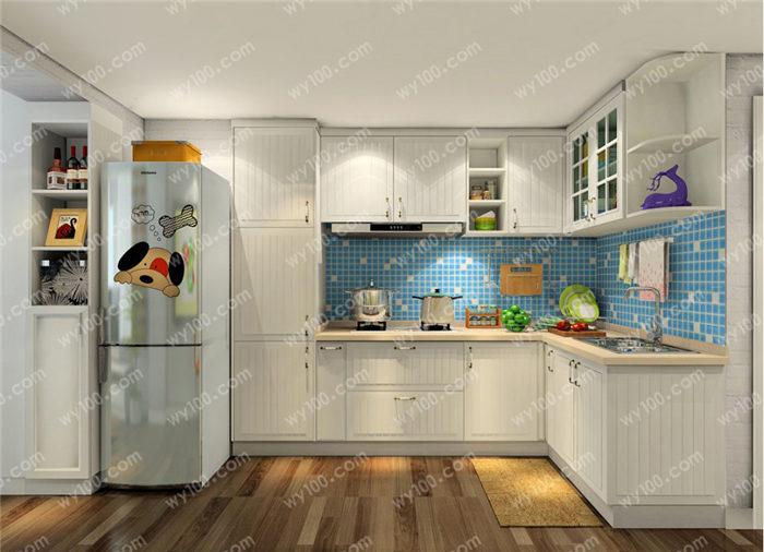 小户型半开放式厨房设计要点 - 维意定制家具网上商城