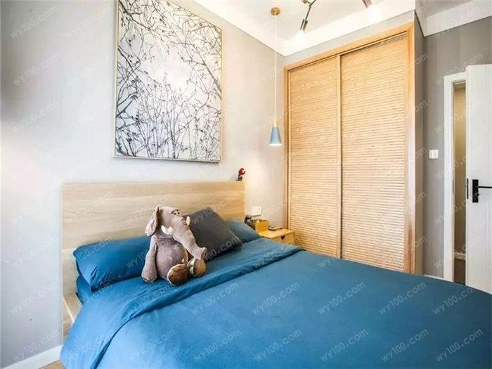 青少年卧室设计效果图 - 维意定制家具网上商城