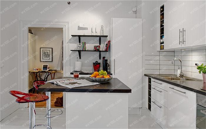 小户型开放式厨房装修案例 - 赌盘网上商城