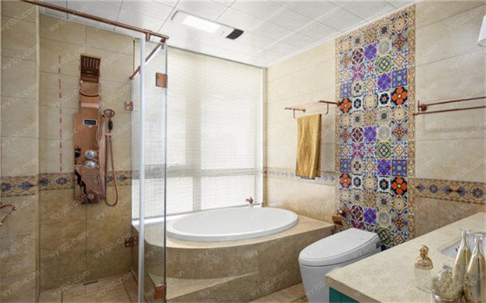 时尚浴室装修效果图,浴室风格介绍
