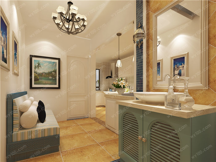 卫生间洗手台尺寸 - 维意定制家具网上商城