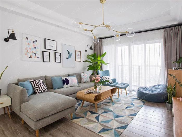 95平现代北欧风格 - 维意定制家具网上商城