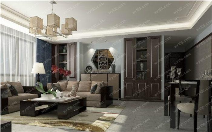 140平方装修效果图 - 维意定制家具网上商城