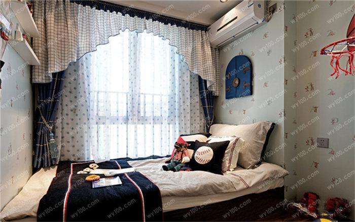 12平方儿童房装修设计案例 - 维意定制家具网上商城