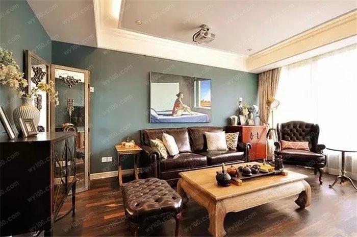 客厅的石膏板吊顶如何设计 - 维意定制家具网上商城