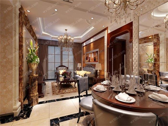 古典房子装修设计,来自欧式风的别样诱惑