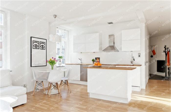 小户型开放式厨房图片 - 维意定制家具网上商城
