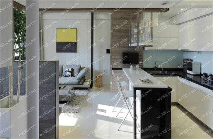 小户型开放式厨房图片,小户型开放式厨房装修设计效果