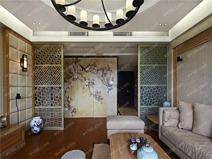 新中式样板间 - 维意定制家具网上商城