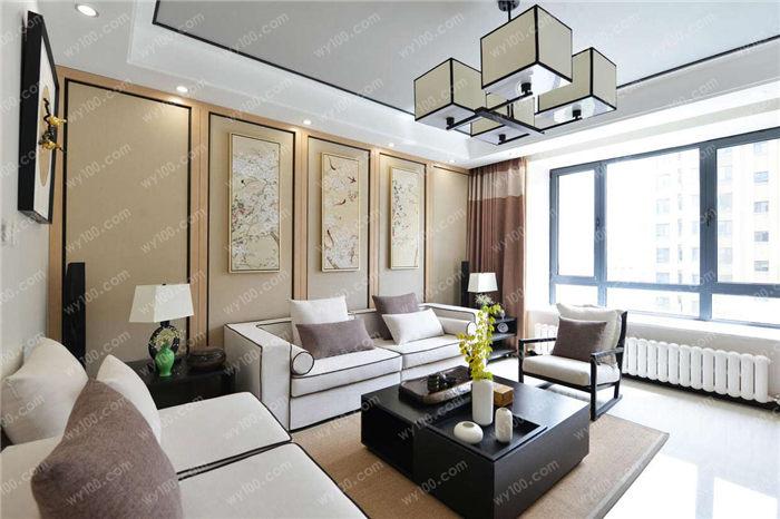 新中式别墅装修效果图 - 维意定制家具网上商城