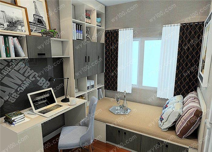 五平米书房如何装修 - 维意定制家具网上商城