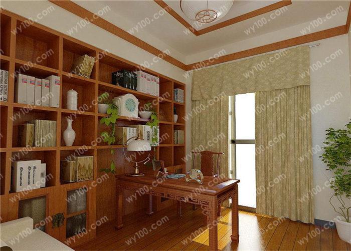 中式风格书房装修风格 - 维意定制家具网上商城