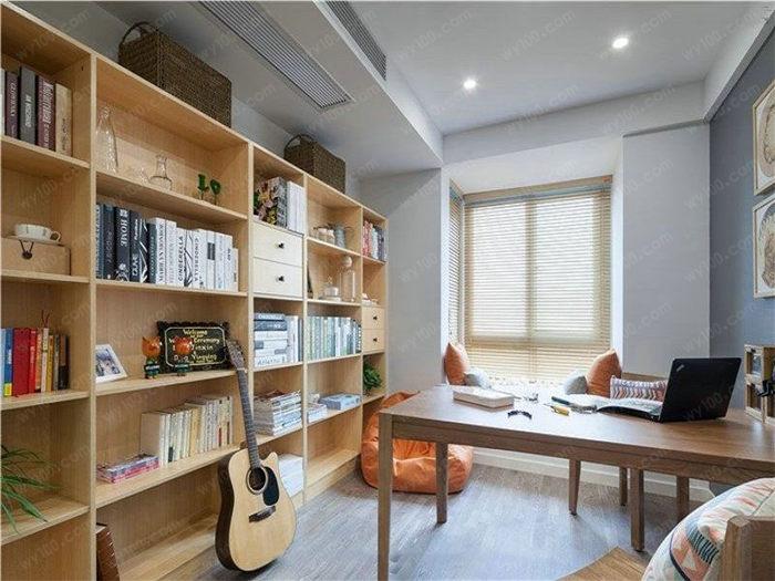 开放式书房怎么装修 - 维意定制家具网上商城