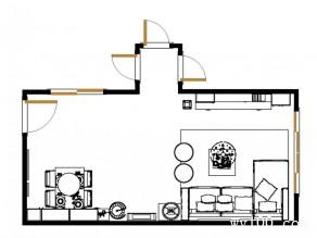 开放式客餐厅 23�O都市白领钟意的满能量设计_赌盘网