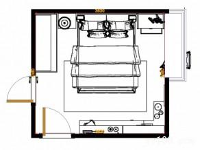 小户型卧室效果图 风靡80后的艺术精品设计_维意定制家具商城