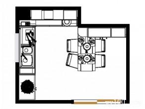 欧式精致个性厨房_维意定制家具商城