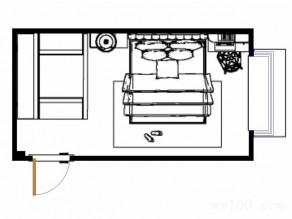 实用卧室效果图 简洁精致16�O实用U型衣帽间_赌盘网