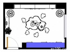 中式书房装修效果图 12�O方便主人摆放古玩_维意定制家具商城