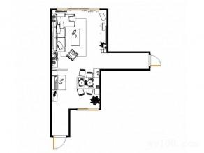 地中海客餐厅效果图 34�O有一股地中海田园气息_维意定制家具商城