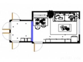 客餐厅装修效果图 20�O卡座式餐桌椅组合_赌盘网