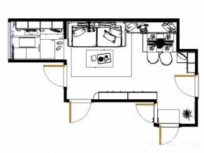 现代简约客餐厅效果图 21�O整体空间温馨时尚_赌盘网