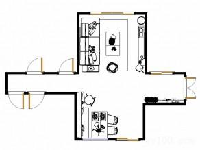 波艾系列客餐厅效果图 21�O整体空间简约_赌盘网