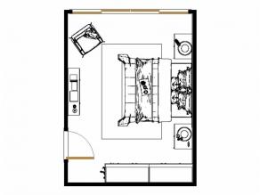 纽唐系列卧房效果图 21�O方便拿取_维意定制家具商城
