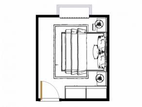 桑普系列卧房效果图 12�O大方_维意定制家具商城