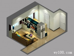 简约客餐厅 巧设隔断提高小宅空间利用_赌盘网