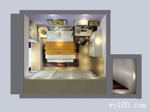 简约时尚强收纳卧房 10�O一份宁静与优雅_赌盘网