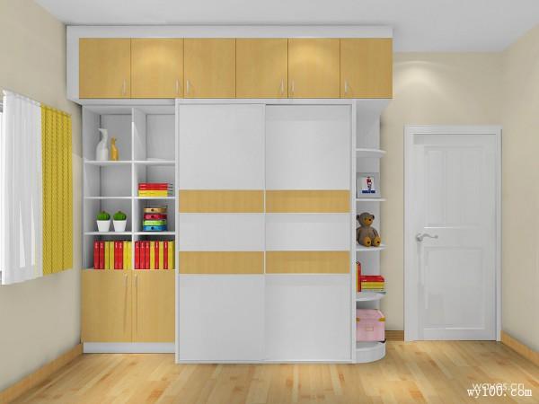衣柜儿童房装修效果图