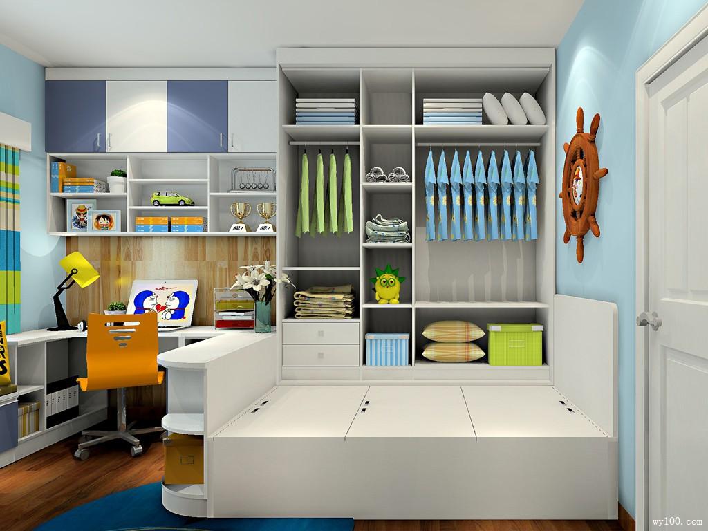 小户型空间创意设计 11㎡妈咪宝贝钟意的儿童房图片