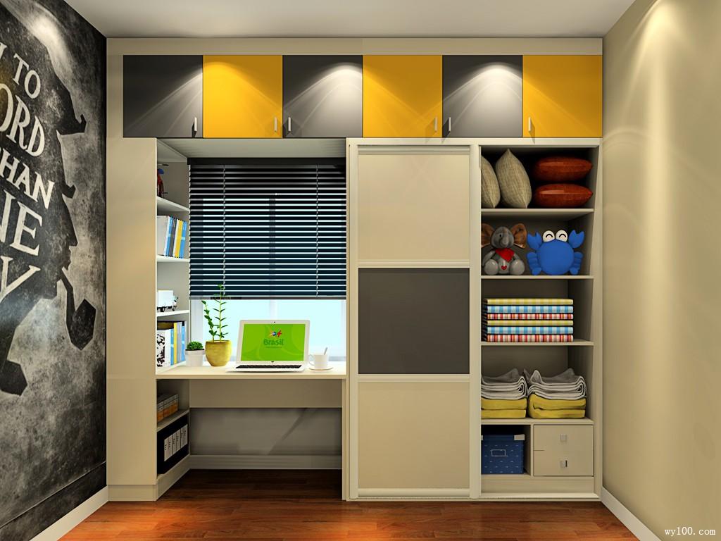 中式卧室组合衣柜效果图 设计本装修效果图  中式卧室装修效果图大全图片