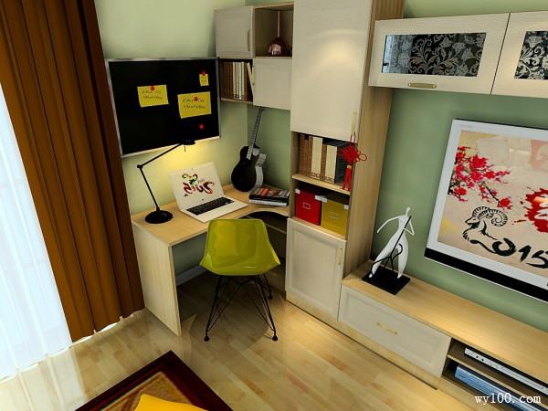 40-45㎡书桌装修效果图