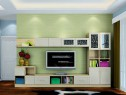 客餐厅一体效果图 25�O书桌与电视柜相搭配_赌盘网