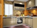L字型厨房 流程顺畅使空间显得不那么局促性_维意定制家具商城