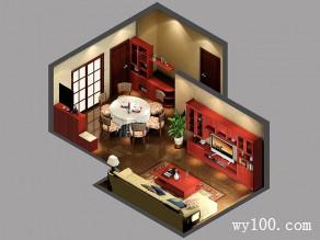 中式客餐厅古色古香风雅意境 凸显主人优雅气质_赌盘网