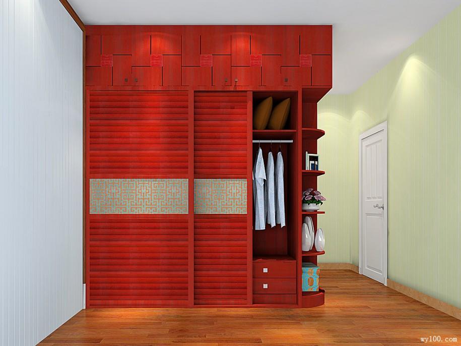 新中式卧室效果图 18㎡主义品质