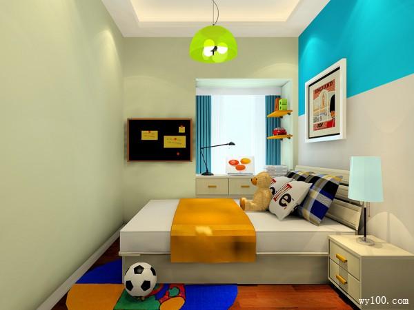 小户型儿童房效果图 6�O让宝贝茁壮成长_维意定制家具商城