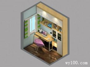 开放式书房效果图 3�O小角落里的阅读_赌盘网