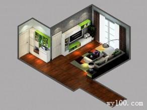 欧式风客餐厅效果图 21�O霓虹主题_维意定制家具商城