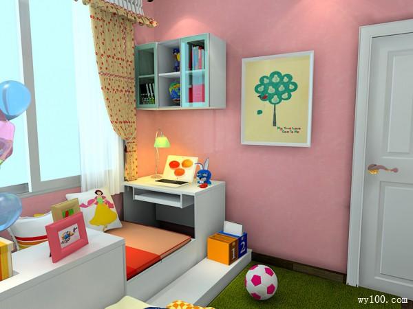 梳妆柜儿童房装修效果图