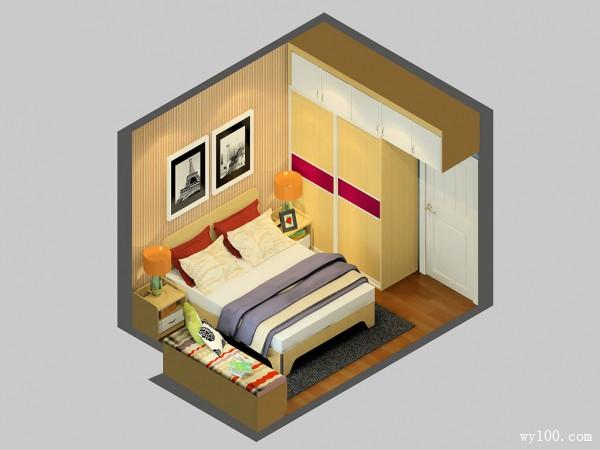 玉玛枫情设计风格卧室效果图_赌盘网
