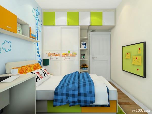 装饰柜儿童房装修效果图